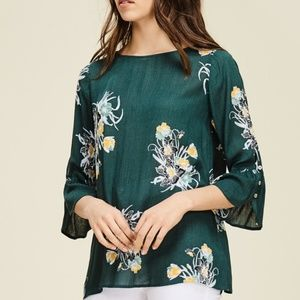 NWT Staccato stitch fix floral blouse top